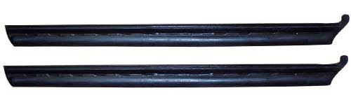 Quarter Window Vertical Seals - LH/RH Pair - 68-72 GM A Body (Coupe & Convertible)