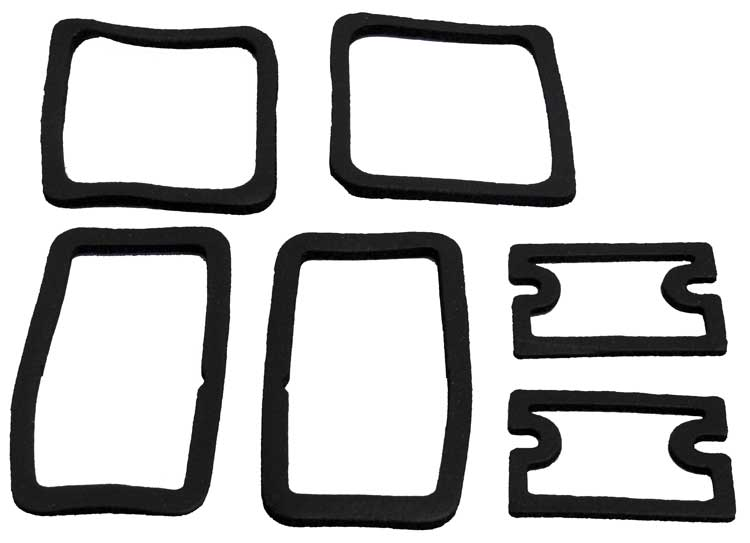 Paint Gasket Supplement Set - 67-68 Camaro RS (Add to CA127 or CA128)