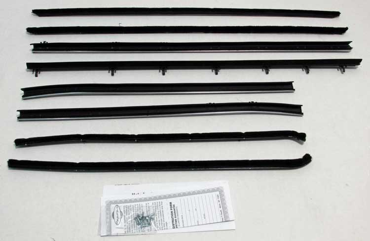Window Felts - Inner & Outer (8pcs) - 66-67 GTO Coupe