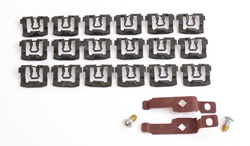 Back Glass Molding Clips & Screw Set - 71-74 Dodge Plymouth E-Body