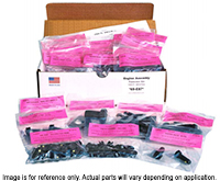 71-72 B/E Body 318/340 with Drum Brakes Master Chassis Hardware Kit (258pcs)