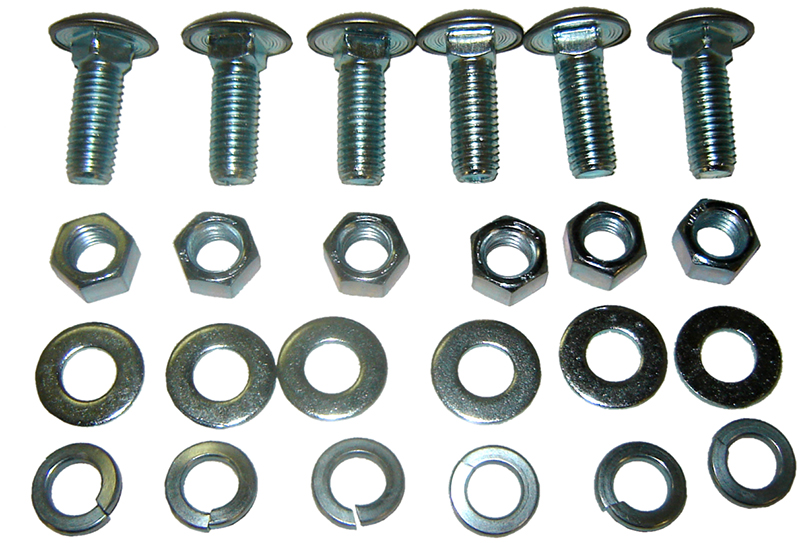 Front Bumper Bolt Kit (24 pcs) - 67-86 Chevy GMC C/K Pickup Blazer Jimmy Suburban; 87-91 Chevy GMC R/V Pickup Blazer Jimmy Suburban