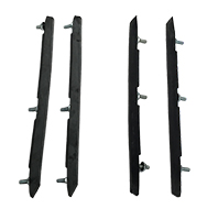 70-72 Monte Carlo Front & Rear Bumper Guard Inserts (4pcs Set)