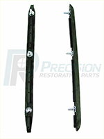 69 Chevelle Rear Bumper Guard Inserts - LH & RH (Sold as a Pair)