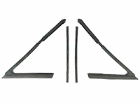 66-67 Chevelle GTO Cutlass Skylark Sedan Vent Window Weatherstrips - LH & RH (Sold as a Pair)