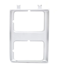 Headlamp Bezel - Gray - RH (Dual Headlamps) - 85-86 C/K or 87-88 R/V Chevy GMC Pickup Blazer Jimmy Suburban