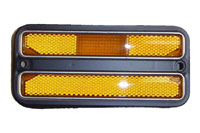 Front Side Marker Lamp w/ Chrome Trim - LH or RH (Sold Each) - 68-72 Chevy GMC C/K Pickup Blazer Jimmy Suburban