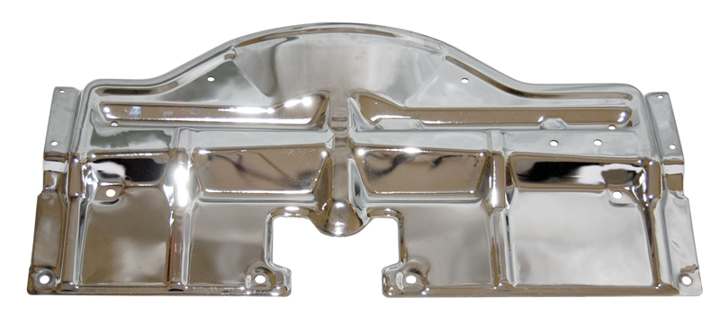 Radiator Support Top Panel - Chrome - 68-70 GTO