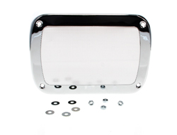 Speaker Grille - Chrome - 55-59 Chevy GMC Truck ('55 2nd Series)