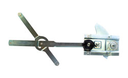 Door Window Regulator - LH - 64-66 Chevy GMC Truck