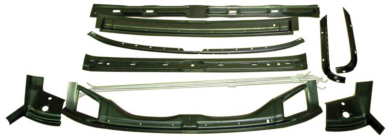 Roof Brace Kit (14pcs) - 67-68 Camaro Firebird