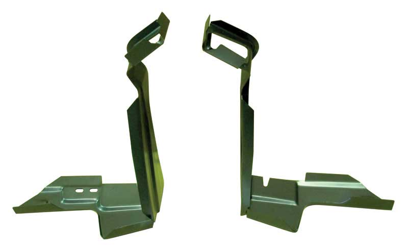 Deck Lid Hinge Extensions (2pc Set) - 67-69 Camaro Firebird