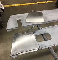 Rear Valance Bump Removal Panel - 70-74 Barracuda