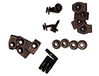Rear Valance Bolt Kit - 70-71 E-Body
