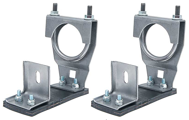 "Muffler Hangers (2 1/4"") - LH/RH Pair - 66-70 Dodge Plymouth B-Body"