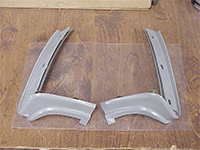Rear Bumper Fillers - Outer LH/RH Pair - 73-74 Plymouth B-Body