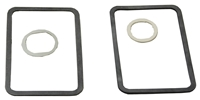 70-74 Dodge Plymouth E-Body Door Handle & Lock Gaskets