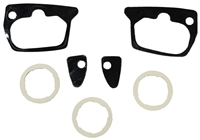 66-67 Dodge Plymouth B-Body Door Handle & Lock Gaskets