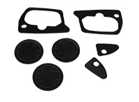 73-76 Dodge Plymouth A-Body Door Handle & Lock Gaskets