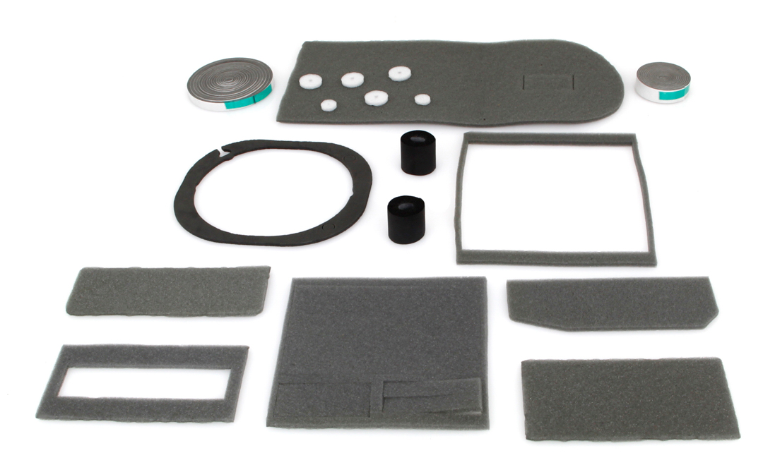 Heater Box Seal Kit - Non A/C - 67-70 Dodge Plymouth B-Body