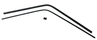 Interior Rear Window Trim Set (3pcs) - 68-70 Dodge Plymouth B-Body