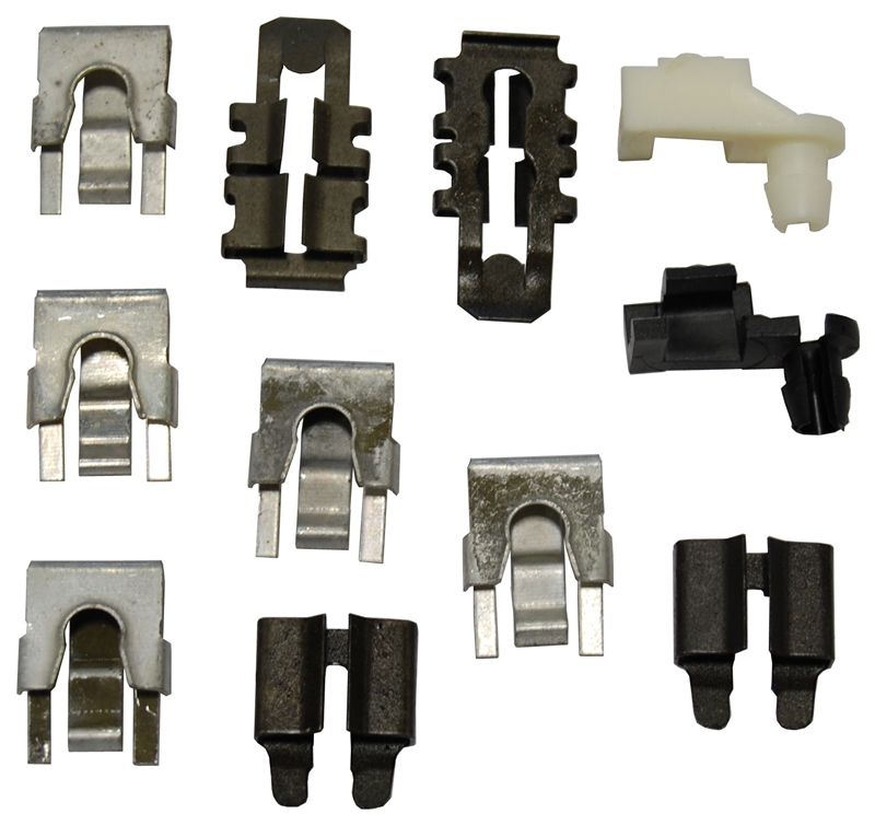 Door Latch / Lock Clip Set - 68-70 Dodge Plymouth B-Body