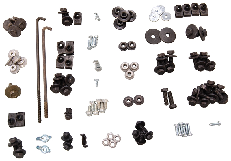 Under Hood Bolt Kit - 68-69 Dodge Plymouth B-Body