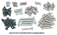 74-75 Dart (2DR Hardtop) Interior Screw Set