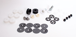 Quarter Window Roller Kit - 66-70 B-Body