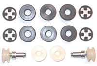 Quarter Window Roller Kit - 67-72 A-Body
