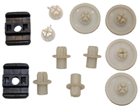 Door Window Hardware Kit - 70-72 Dodge Plymouth E-Body