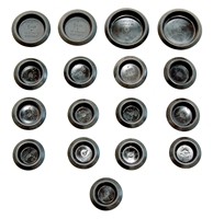 Door Frame Plug Kit - 67-76 A-Body; 68-74 B-Body; 70-74 E-Body