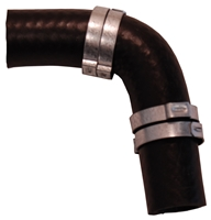Vent Line Elbow w/ Clamps (2 Required) - 66-67 B-Body