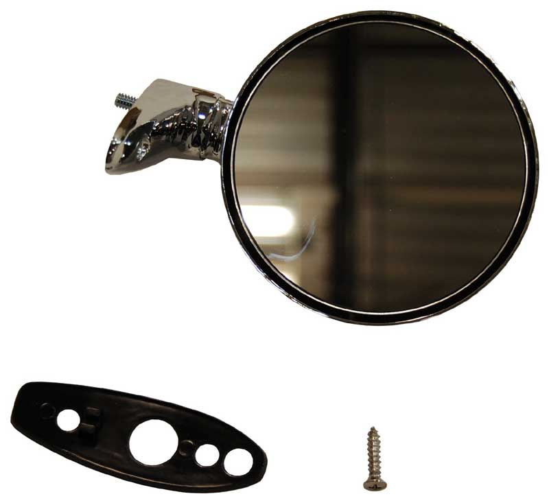 67-70 B-Body & 67-74 A-Body Chrome Mirror - RH