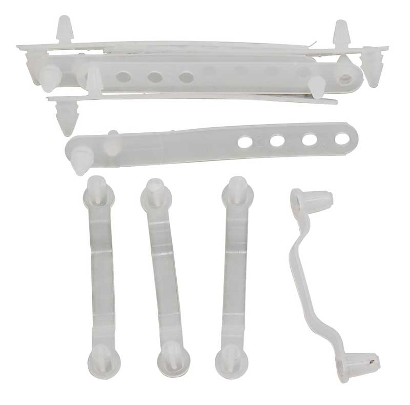 Under Hood Strap Kit - 66-70 Dodge Plymouth B-Body