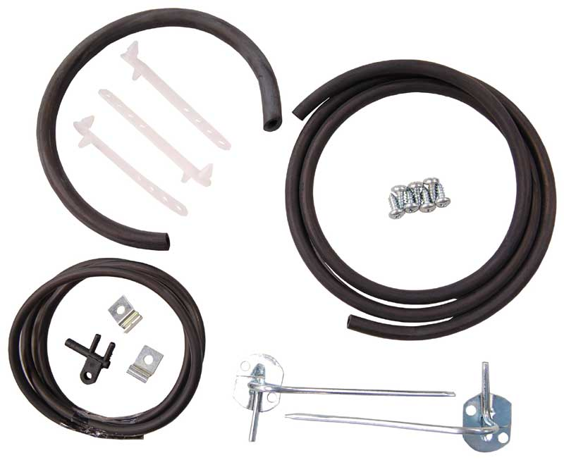 Windshield Washer Hose Kit - 66-67 Dodge Plymouth B-Body