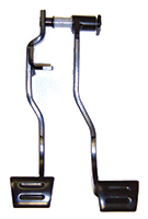 Clutch & Brake Pedal Assembly - 64-66 Chevelle El Camino