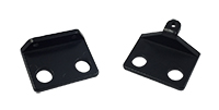 Cowl Induction Hood Door Brackets - LH/RH Pair- 70-72 Chevelle El Camino