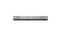 "Rear Body Emblem - ""BY CHEVROLET"" - 70 Monte Carlo"