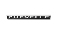 "Rear Body Emblem - ""CHEVELLE"" - 67 Chevelle"