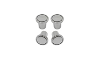 Vent Pull Knobs - Chrome - 4 Piece Set - 68-72 Chevelle El Camino Camaro