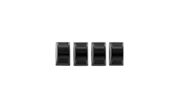 68-74 Nova Temperature Control Knobs, Black, Set of 3