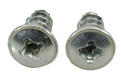 Door Jamb Vent Retaining Screws - Pair - 68-81 Camaro Firebird; 69-72 Chevelle; 69-79 Nova