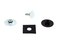 Door Glass Mounting Hardware Kit - LH or RH - 67 Camaro Firebird