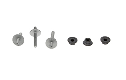 Quarter Window Track Stud & Nut Set - 67-69 Camaro Firebird