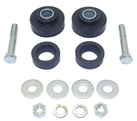 Radiator Support Bushing Mount Kit (14pcs) - Replacement Style Bushings & Hardware - 67-72 Camaro Firebird; 68-72 Chevy II Nova