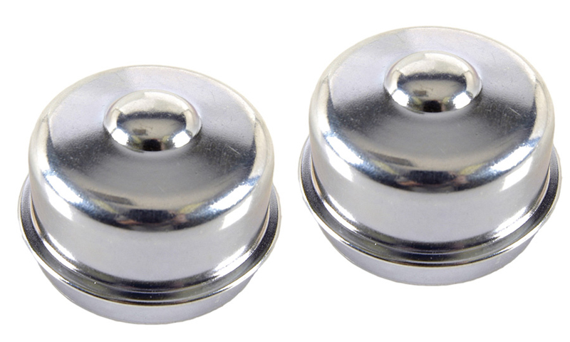 Front Wheel Bearing Caps - 2 Piece Set - Fits many GM Models