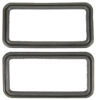 Back-up Lamp Housings Seals - Pair - 67-68 Camaro (Rally Sport)