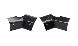 Deck filler Corners - LH/RH Pair - 67-69 Camaro Firebird (Coupe)