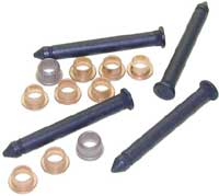 68-74 Nova 67-69 Camaro Firebird Door Hinge Pin & Bushing Repair Kit